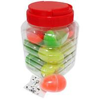 """Пластилин умный - жвачка для рук 4167 """"Яйцо"""" светящийся (цветной, прыгает, тянется, лепится)"""