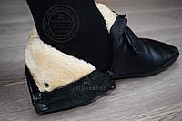 ХУФФЫ (кожаные носки) С МЕХОМ