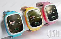 Детские умные смарт часы Smart Baby Watch Q60 с GPS трекером для отслеживания