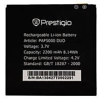 Аккумулятор к телефону Prestigio PAP5000 2200mAh