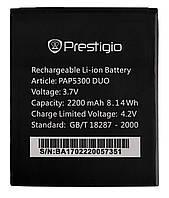Аккумулятор к телефону Prestigio PAP5300 2100mAh
