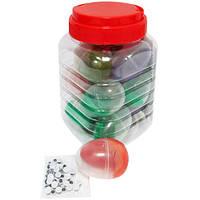 """Пластилин умный - жвачка для рук 4169 """"Яйцо"""" меняющий цвет (цветной, прыгает, тянется, лепится)"""