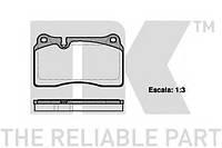 Тормозные колодки передние (16.5mm)Range Rover 3.6Td8, Range Rover Sport 4.4 05- NK 224788
