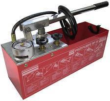 Гидравлический опрессовщик для труб ручной Marek (Польша) 50 бар 40 мл\такт 12 литров