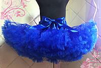 Синяя юбка американка премиум