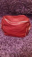 Сумка-рюкзак женская красная 031