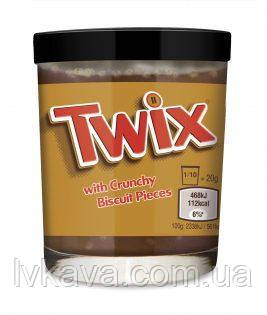 Шоколадный крем Twix with Crunchy Biscuit Pieces , 200 гр