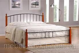 Кровать кованая 13