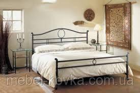 Кровать кованая 15
