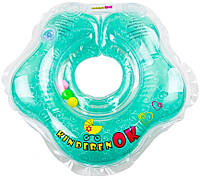 "Круг для купания младенцев, с пупсиками BABY, ""Floral Aqua"", Kinderenok"