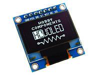 OLED дисплей 0.96 I2C, SPI (синий) 128х64