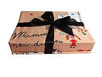 Комплект постельного белья из Египетского хлопка спринтом Dolche&Gabanna, фото 1