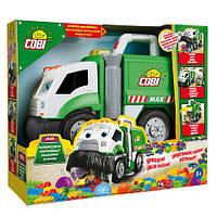 Cobi MAX ЛАКОМКА Мусоровоз -собирает кубики и маленькие игрушки Новинка