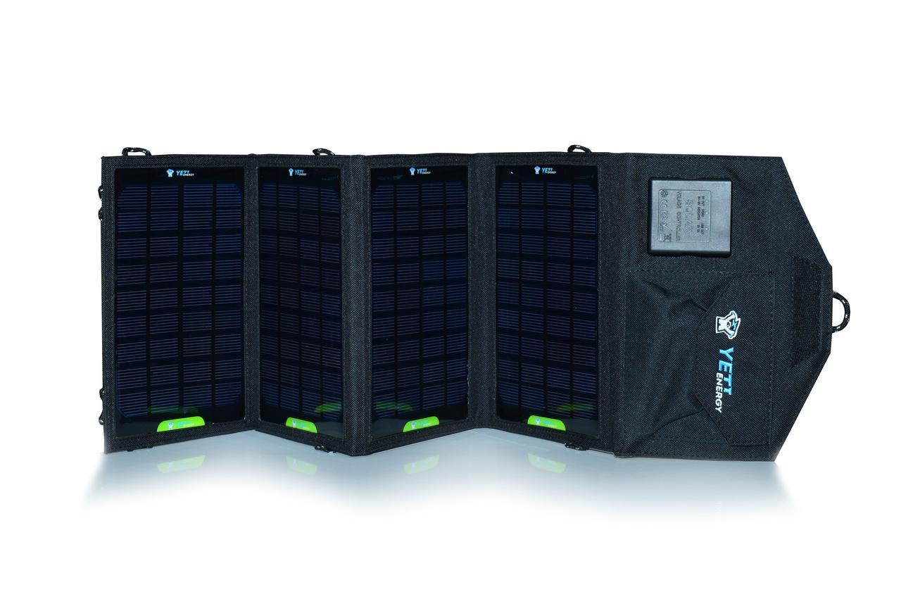Портативная солнечная батарея Bratfishing 14 W / USB 5.5V×1900mA
