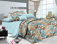 Комплект постельного белья Фиджи , сатин