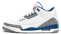 """Баскетбольные кроссовки Nike Air Jordan 3 Retro """"True Blue"""", EUR 42"""
