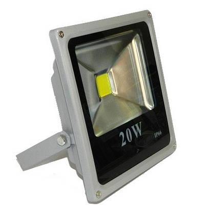 Светодиодный прожектор LEDEX Slim 20W, фото 2
