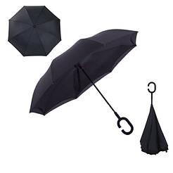 Зонт наоборот up-brella Черный