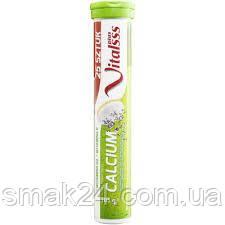 Шипучі вітаміни Vitalsss Calcium + Vitamin D3+K3+Folsaure 25 шт