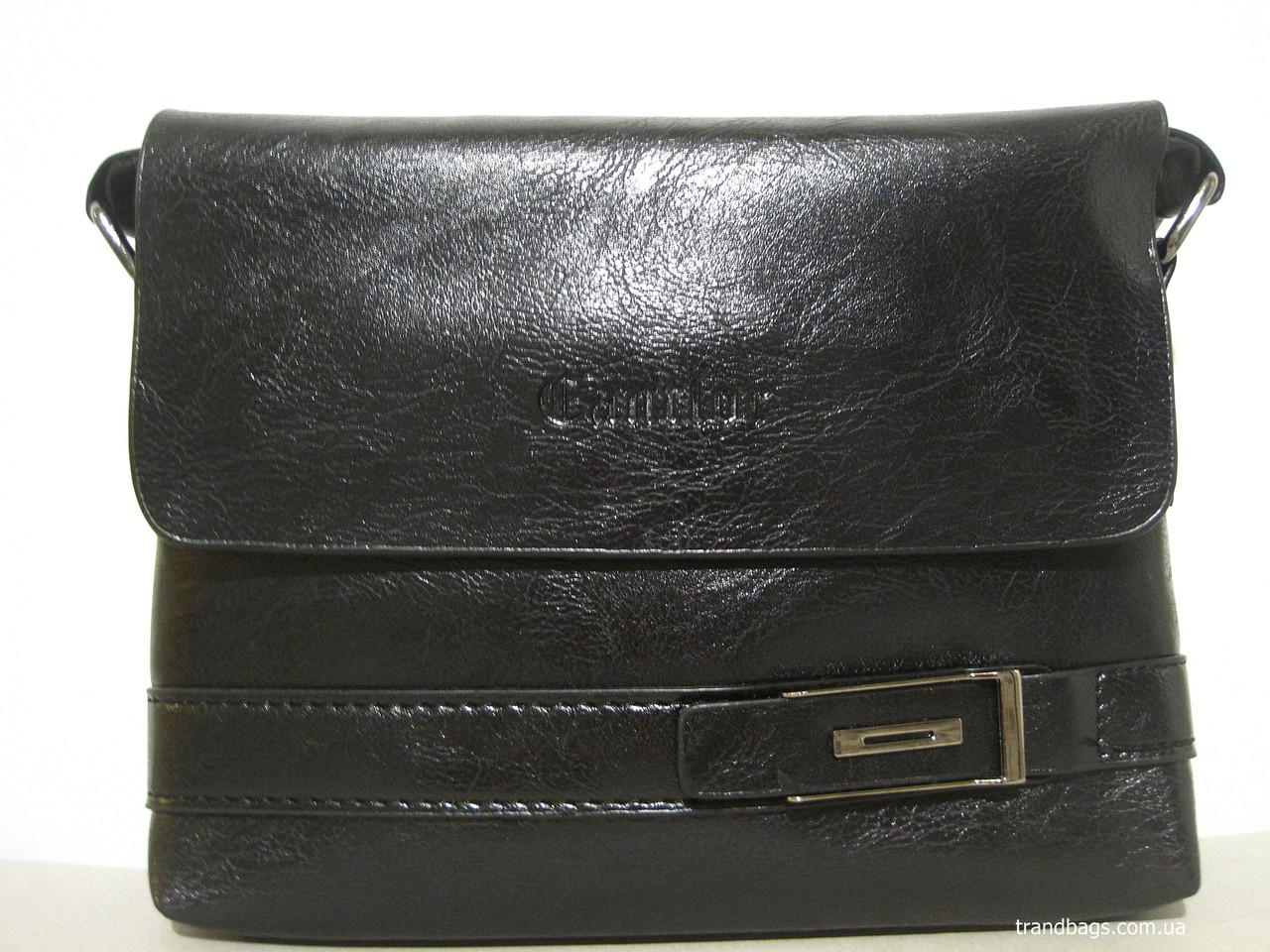 f02713cd8814 Мужская сумка 108S-1 black CANTLOR мужская сумка на плечо не дорого Одесса  7 км