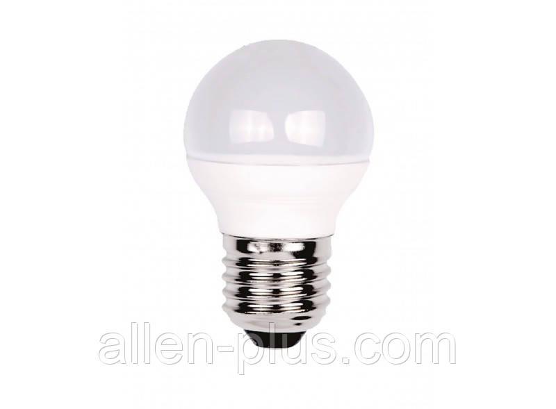 Лампа светодиодная LED LUXEL 050-N G45 4000K (E27 / 7W)