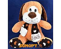 """Мягкая игрушка Собака в шарфике """"Love"""" (ГП) №A8-17041"""