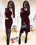 Жіночий модний комплект-двійка: плаття і кардиган з ангори (5 кольорів), фото 6