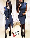 Жіночий модний комплект-двійка: плаття і кардиган з ангори (5 кольорів), фото 8