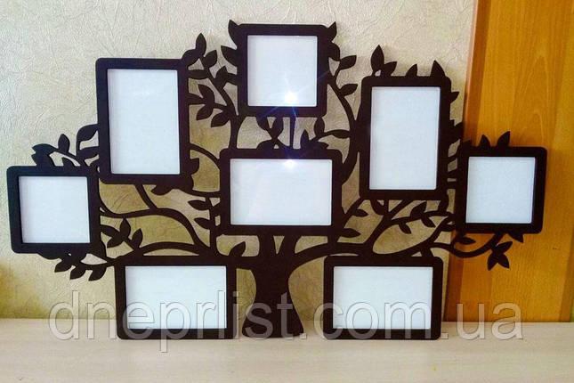 """Мультирамка """"Семейное дерево"""" (цвет и размер любой), фото 2"""