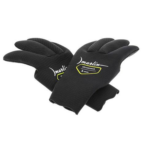 Перчатки Marlin Ultrastretch  black 3 мм, фото 2