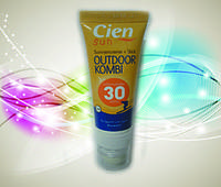 Защитный крем проти солнца и ветра 2 в 1 для губ и лица.спорт. CIEN (оригинал с германии)
