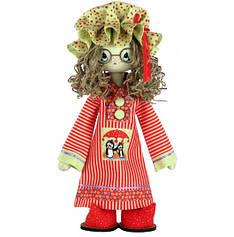 """Набор для шитья игрушки Текстильная каркасная кукла """"Сюзанна"""" К1052"""