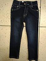 """Детские черные джинсы на флисе """"Armani"""" для мальчика 3года"""