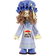 """Набор для шитья игрушки Текстильная каркасная кукла """"Жозефина"""" К1053"""