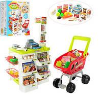 """Игровой набор """"Супермаркет с тележкой"""" 668-01-03"""