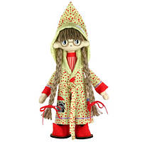 """Набор для шитья игрушки Текстильная каркасная кукла """"Джессика"""" К1054"""
