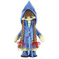 """Набор для шитья игрушки Текстильная каркасная кукла """"Виолетта"""" К1055"""