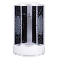 Гидробокс Sansa 9900A 90х90х215 стекло узор, глубокий поддон