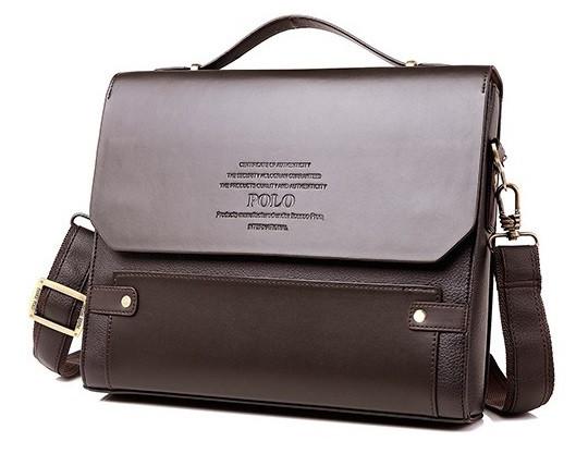 06b437080566 Каркасная мужская сумка-портфель Polo, формат А4. Сумка для документов.  КС85,
