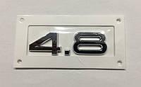 Эмблема багажника Audi 4.8