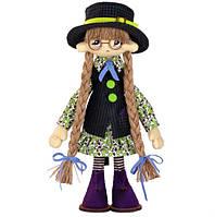 """Набор для шитья игрушки Текстильная каркасная кукла """"Паулина"""" К1061"""