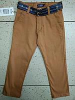 Детский красивые штаны с поясом для мальчика 7 год
