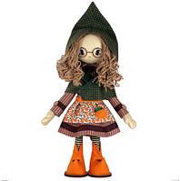 """Набор для шитья игрушки Текстильная каркасная кукла """"Шарлотта"""" К1064"""