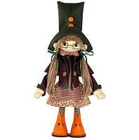 """Набор для шитья игрушки Текстильная каркасная кукла """"Гертруда"""" К1066"""