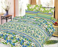 Комплект постельного белья Весна зеленая 1,5