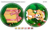 Схема для вышивки бисером ёлочной игрушки БС-5103