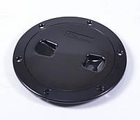 Лючок инспекционный, черный, Ø=15,3см, C13025B6