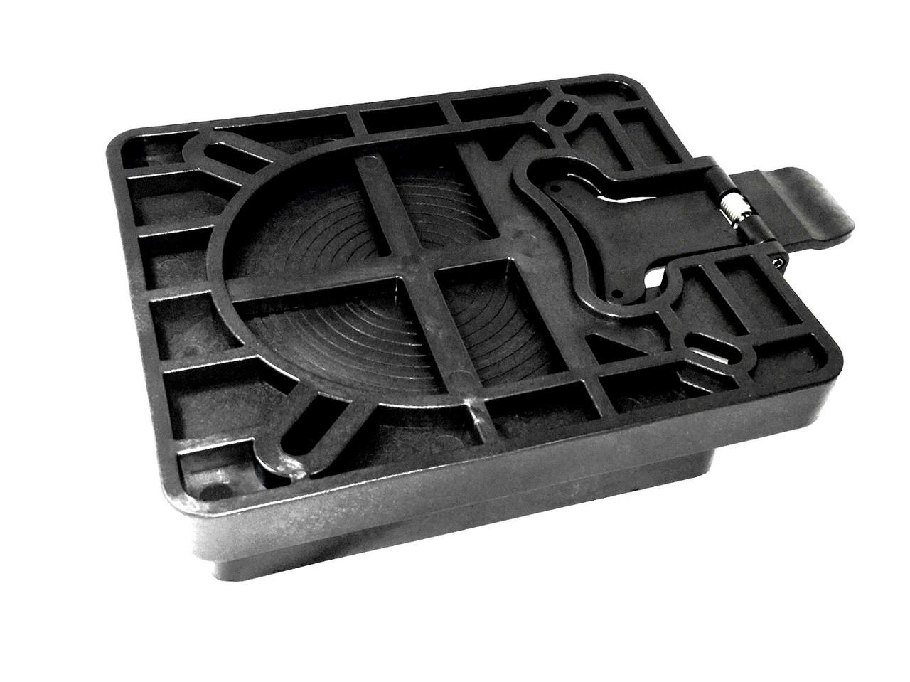 Поворотная пластина съемная с фиксатором, пластик С12567