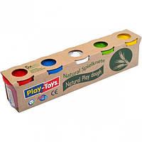 Игровое тесто «PLAY-TOYS» 5х100 грамм.(Производство-Турция)