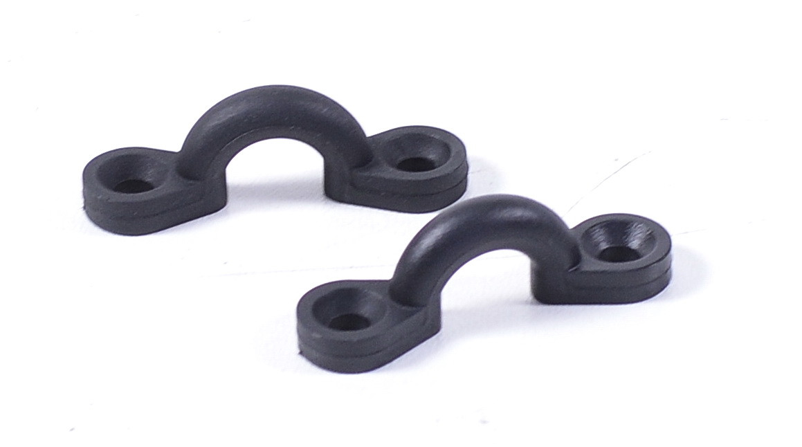 Ушко, пластик, черный, C11722-B
